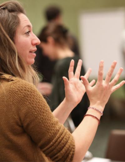 Rencontre avec des étudiants chez Design et Formations, 2019
